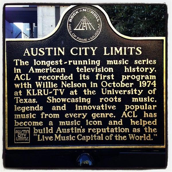 Das Foto wurde bei Austin City Limits Live von Chad P. am 3/12/2013 aufgenommen