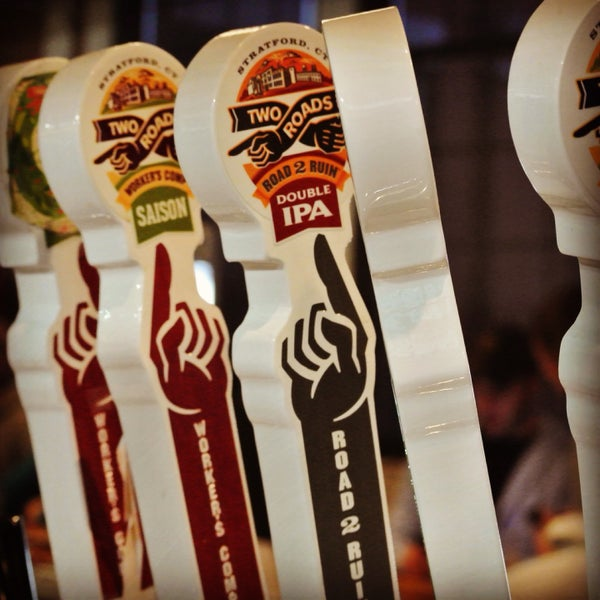 Two Roads Tap Takeover is tonight 2/25/15 @ 6:30pm $30 all in.