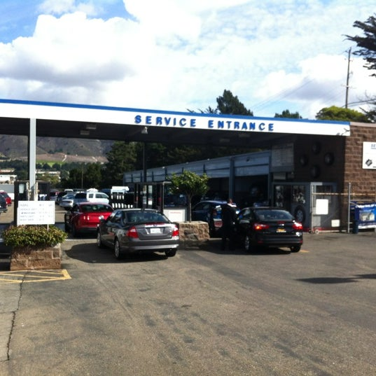 Photo Taken At Serramonte Ford By Jared F. On 10/23/2012