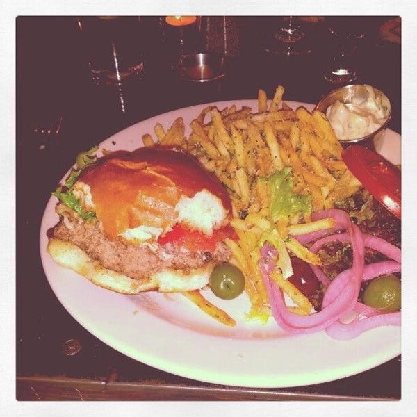 The burger. My God, the burger.