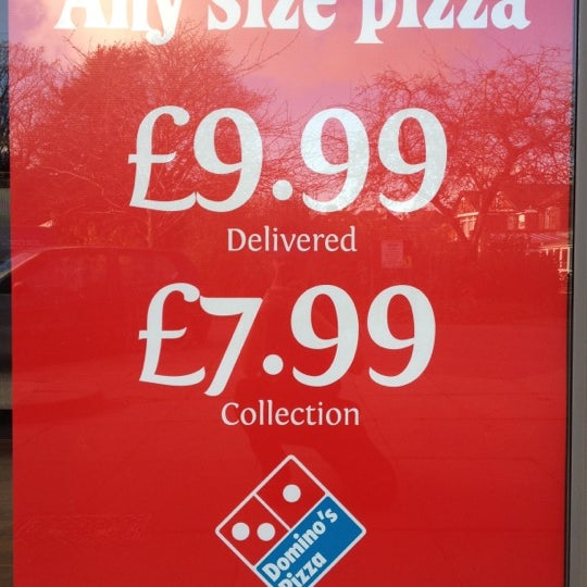 Dominos Pizza Hedge End Southampton Hampshire