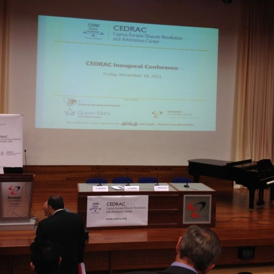 Foto tomada en European University Cyprus por Andreas F. el 11/18/2011