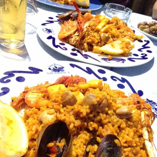 Das Foto wurde bei Restaurante Salamanca von Oscar S. am 5/28/2012 aufgenommen
