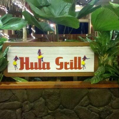 12/29/2011 tarihinde Terry Sue S.ziyaretçi tarafından Hula Grill'de çekilen fotoğraf