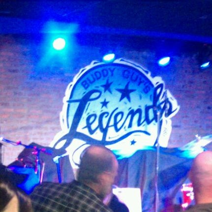 Foto tirada no(a) Buddy Guy's Legends por Justin S. em 1/7/2012