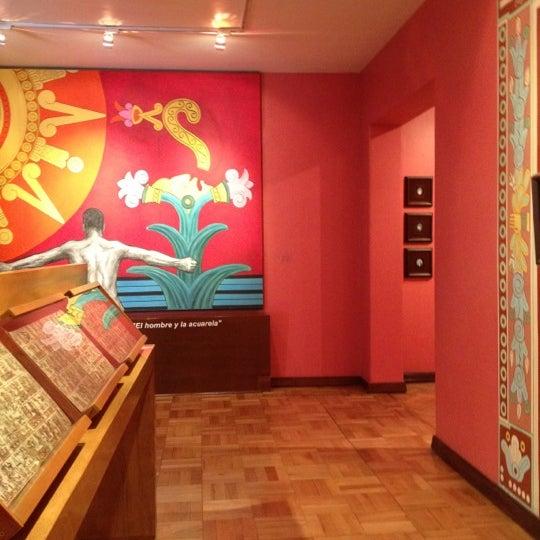"""รูปภาพถ่ายที่ Museo Nacional de la Acuarela """"Alfredo Guati Rojo"""" โดย Israel A. เมื่อ 4/2/2012"""
