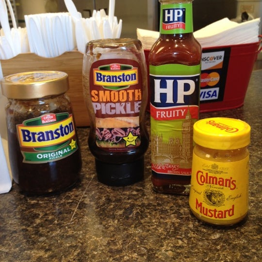 Interesting condiments!