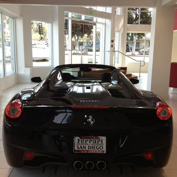 Ferrari Of San Diego Auto Dealership In La Jolla