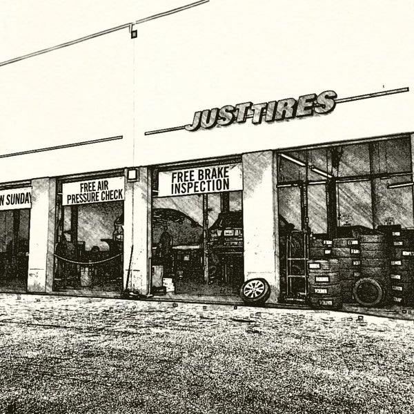 Photos At Just Tires Automotive Shop