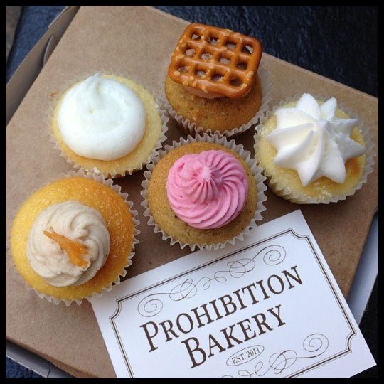 Boozie cupcakes. What's not to love?