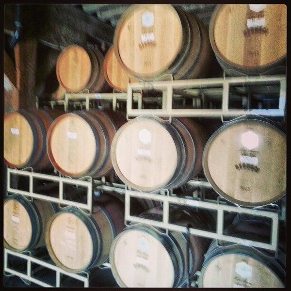 Снимок сделан в Regusci Winery пользователем Tyler F. 1/19/2013