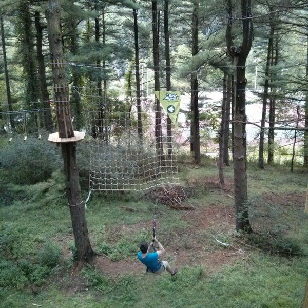 Photos At North Park Go Ape Zip Line Treetop Adventure Recreation Center