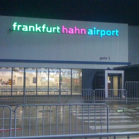 Frankfurt Hahn Airport Hhn Bandara Di Hahn