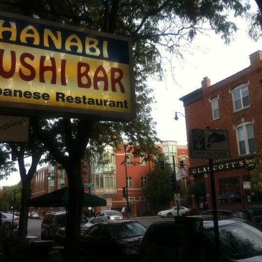 Снимок сделан в Hanabi Sushi Bar пользователем Luis A. 9/20/2012