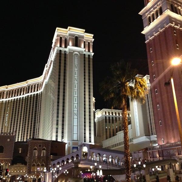 Foto tirada no(a) Venetian Resort & Casino por Ilenia M. em 5/14/2013