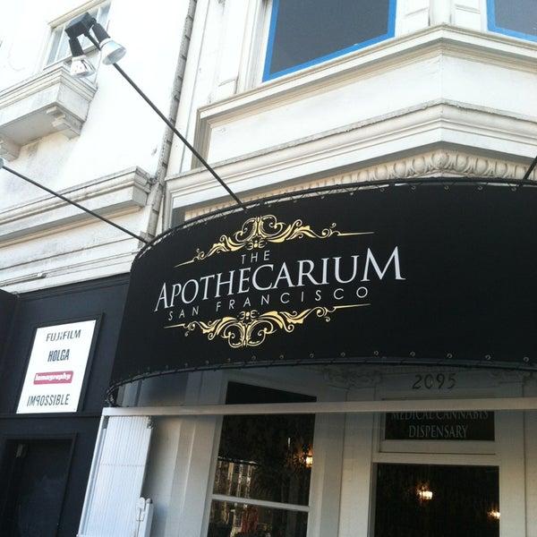 The Apothecarium - Marijuana Dispensary in San Francisco