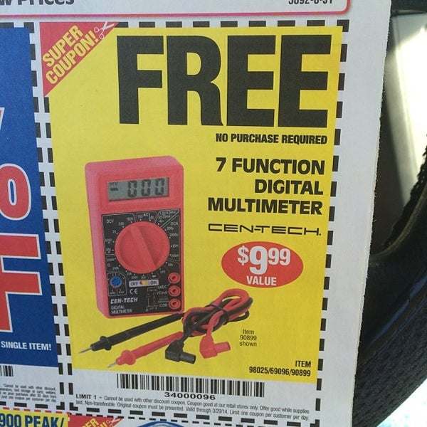 Photos at Harbor Freight Tools - 3 tips
