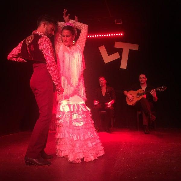 Снимок сделан в Las Tablas Tablao Flamenco пользователем Ded Ж. 8/20/2016