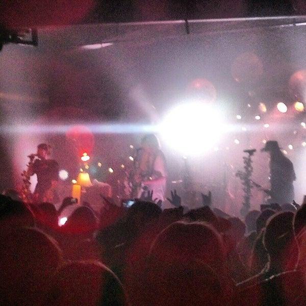 Снимок сделан в The Cannery Ballroom пользователем Dailoc N. 10/24/2012