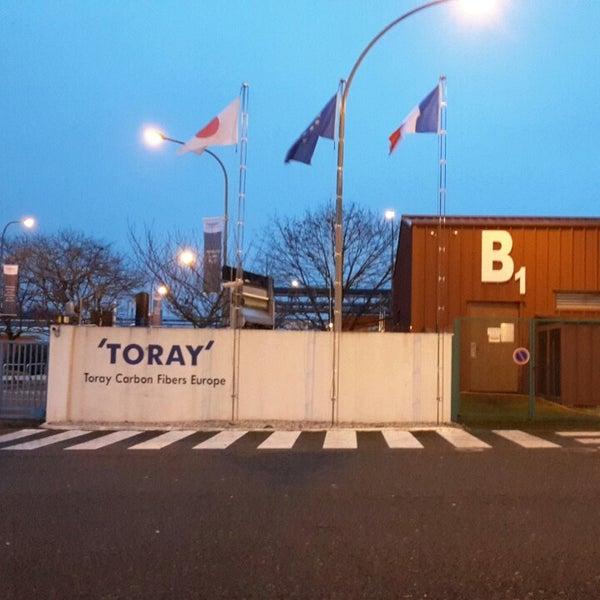 Photos at Toray Carbon Fibers Europe - Abidos, Aquitaine