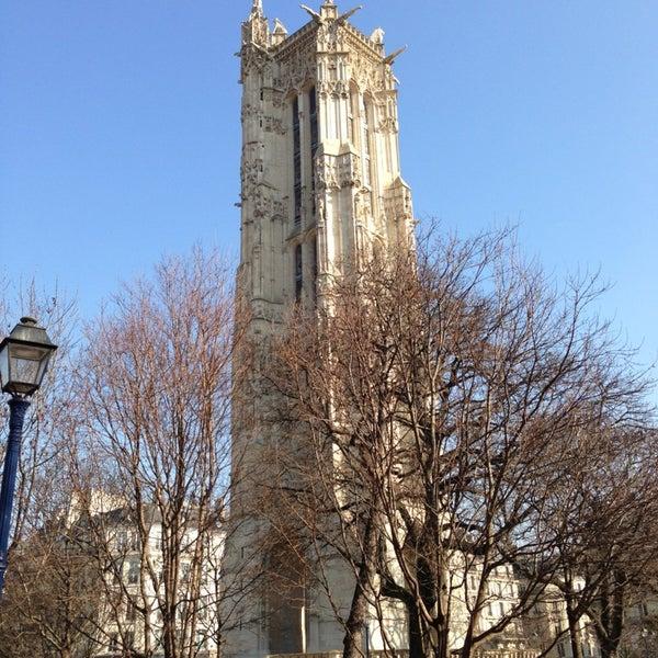 Top 50 Things To Do In Paris During Summer: Square De La Tour Saint-Jacques