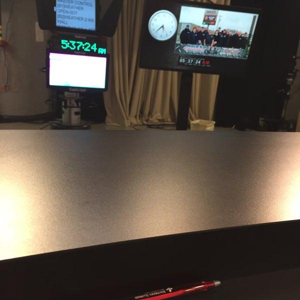 Photos at WSIL Anchor Desk - 1 tip