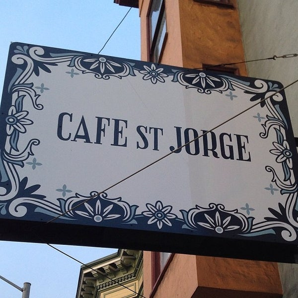 Das Foto wurde bei Cafe St. Jorge von Jorge G. am 3/21/2014 aufgenommen