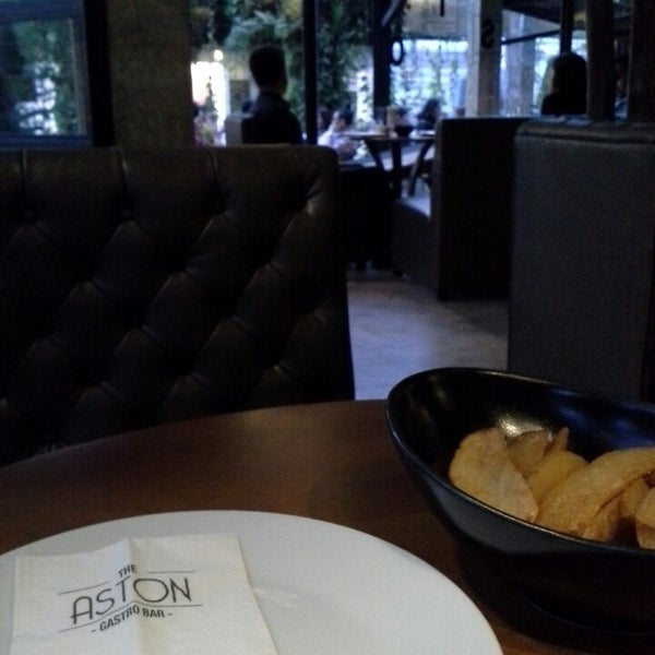 Photo Taken At Aston Dining Room Amp Bar By Auise S On 8