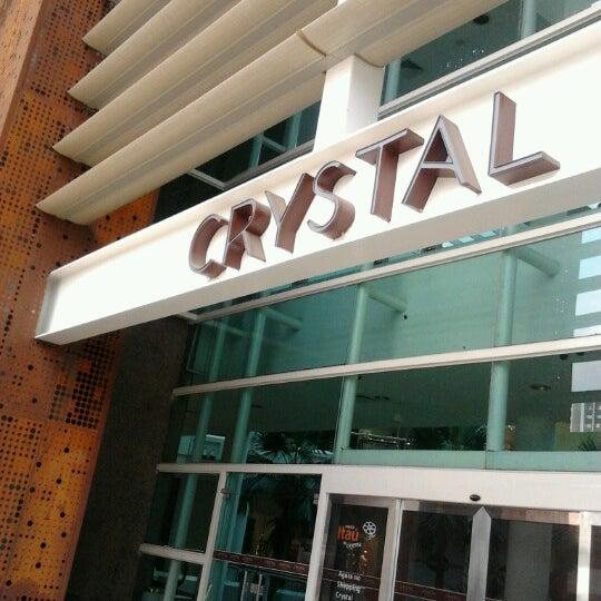 Foto tirada no(a) Shopping Crystal por Reginaldo C. em 9/28/2012