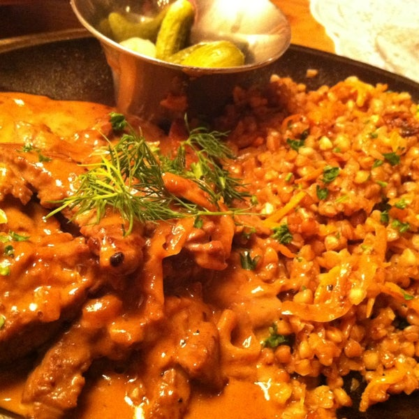 Beef Stroganoff is to die for!