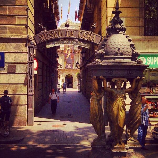7/15/2013にIgor K.がMuseu de Cera de Barcelonaで撮った写真