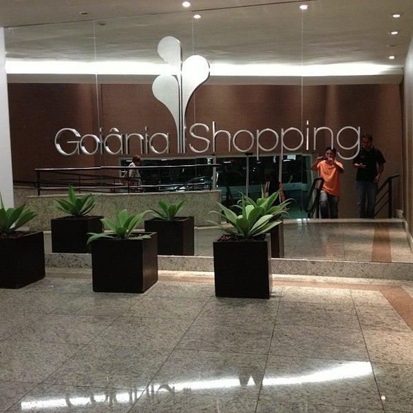 11/1/2012 tarihinde Marcio K.ziyaretçi tarafından Goiânia Shopping'de çekilen fotoğraf