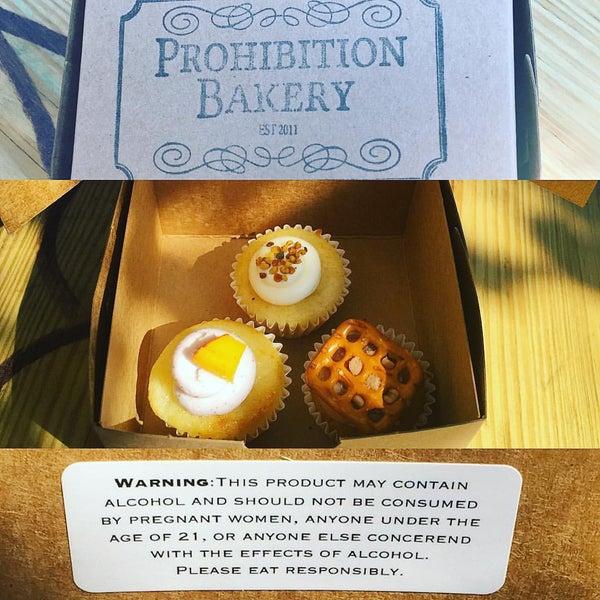 รูปภาพถ่ายที่ Prohibition Bakery โดย Michael P. เมื่อ 8/29/2015
