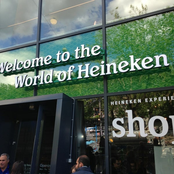 6/26/2013 tarihinde Mary-Lauren S.ziyaretçi tarafından Heineken Experience'de çekilen fotoğraf