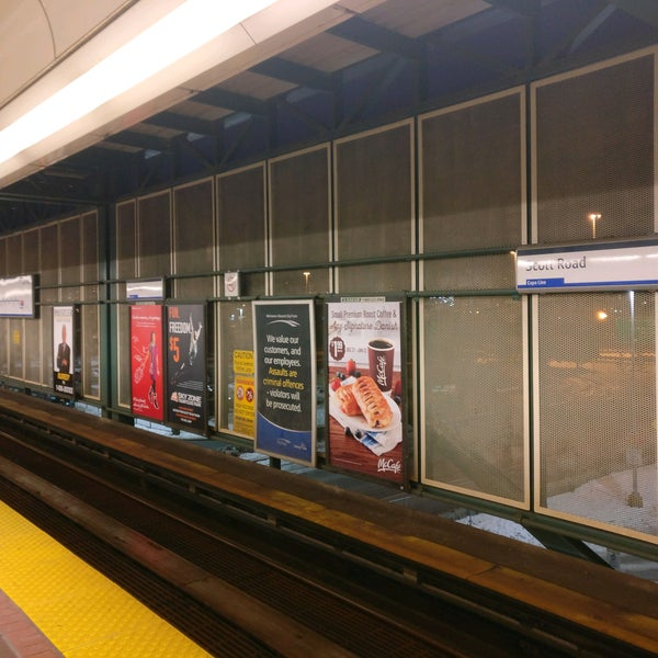 Scott Road SkyTrain Station