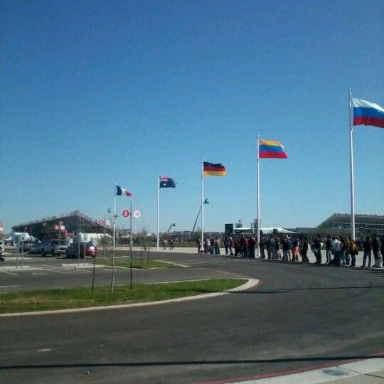 11/16/2012 tarihinde Christina T.ziyaretçi tarafından Circuit of The Americas'de çekilen fotoğraf