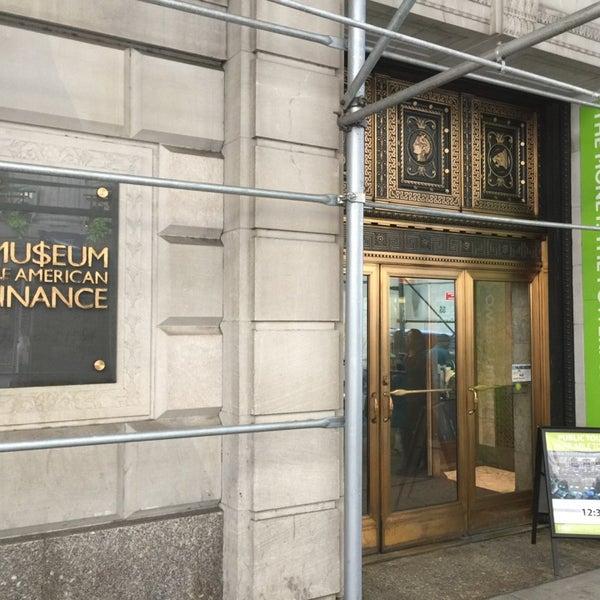 Foto tirada no(a) Museum of American Finance por X    🎶 em 10/14/2014