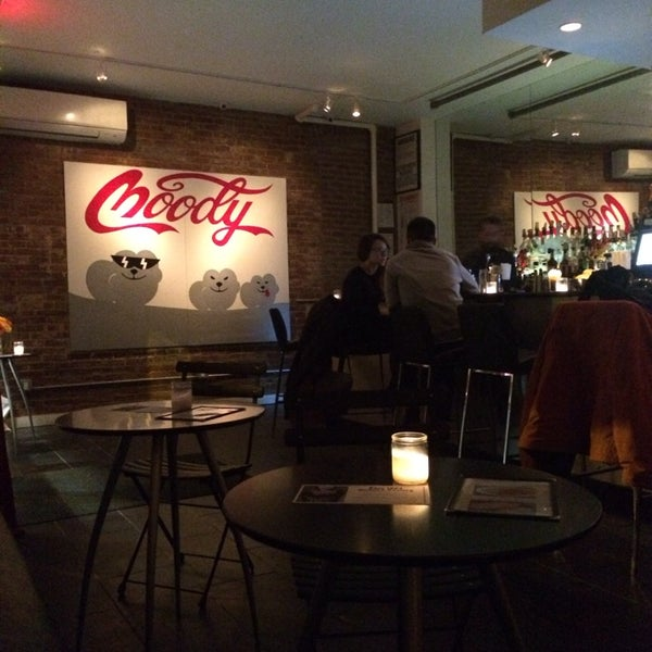 """Chill spot with adorable decor. Not what you'd expect from a bar called """"ghost"""" but very lovely. Friendly bartender too. Like!"""