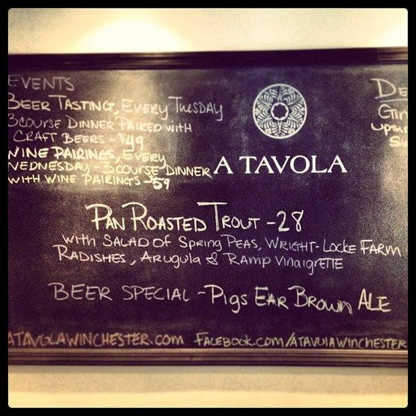 5/2/2013にLynsey P.がA Tavolaで撮った写真