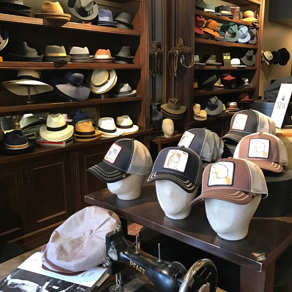 e6d59e94a5448 Photo taken at Goorin Brothers Hat Shop - The District by  njwineandbeer on  2
