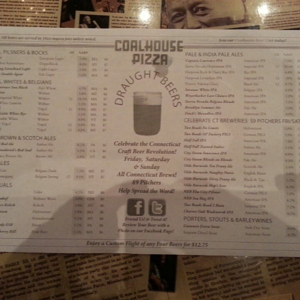 Photo taken at Coalhouse Pizza by Andy A. on 6/18/2013