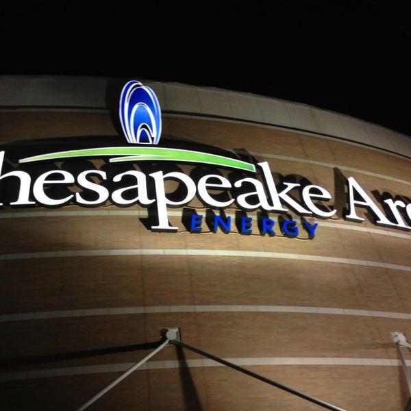 Das Foto wurde bei Chesapeake Energy Arena von Michael C. am 2/25/2013 aufgenommen