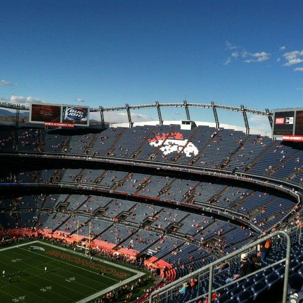 Foto diambil di Broncos Stadium at Mile High oleh Megan R. pada 3/5/2013