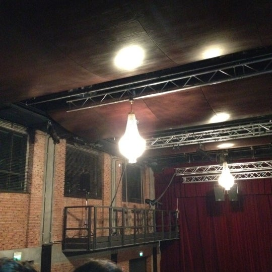 Снимок сделан в Teatro Franco Parenti пользователем Valentina P. 10/21/2012