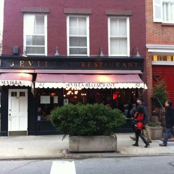 Sevilla Restaurant West Village 62 Charles St