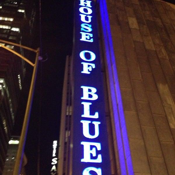 Foto diambil di House of Blues oleh Tom B. pada 9/22/2013