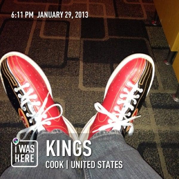 Снимок сделан в Kings Dining & Entertainment пользователем Brian N. 1/30/2013