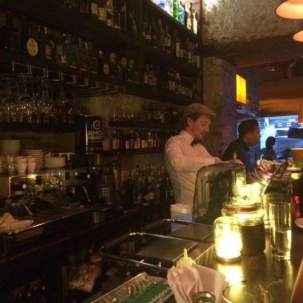 Photo taken at EL BARÓN - Café & Liquor Bar by Susan L. on 7/4/2014