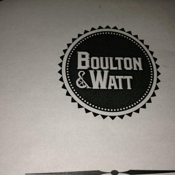 1/10/2013 tarihinde Melissa G.ziyaretçi tarafından Boulton & Watt'de çekilen fotoğraf