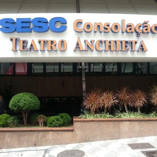 รูปภาพถ่ายที่ Sesc Consolação โดย Rud Patrick d. เมื่อ 10/16/2012